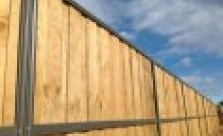 Pool Fencing Lap and Cap Timber Fencing Kwikfynd